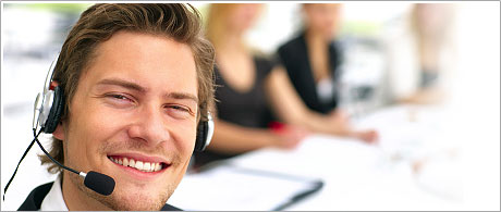 A 24/7 customer support service